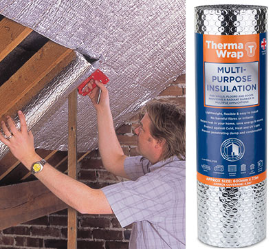 DIY Products | ThermaWrap Foil | YBS Insulation